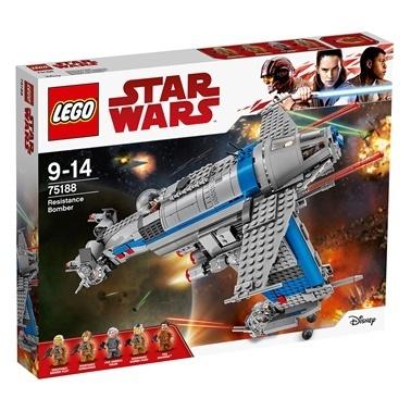 Lego LEGO Star Wars Resistance Bomber Renkli